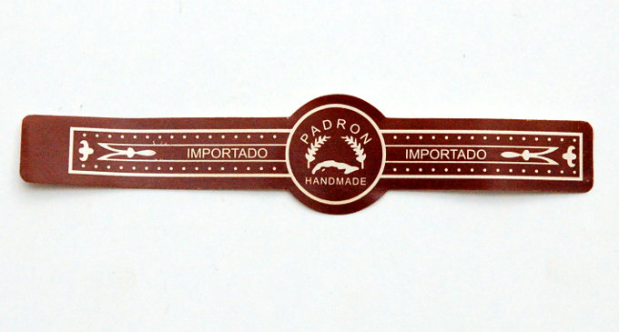 Padron Churchill Maduro Cigar Band