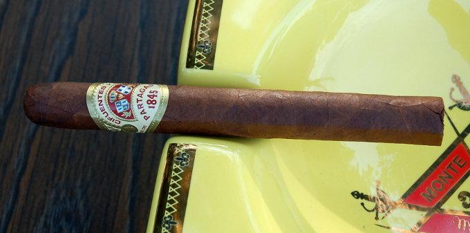 Partagas Spanish Rosado in an Ash Tray