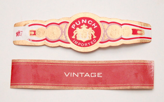 Punch Vintage Cigar Band