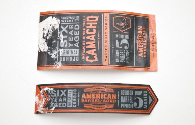 Camacho American Barrel Aged Cigar Bands