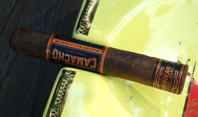 Camacho American Barrel Aged in an Ash Tray