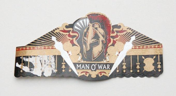 Man O' War Cigar Band