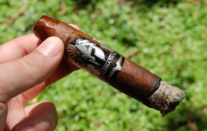 Man O' War Ruination Cigar First Third