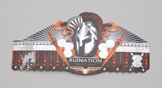 Man O' War Ruination Cigar Band