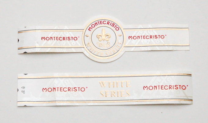 Montecristo White Series Cigar Band