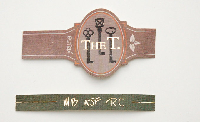 The T. by Caldwell AJ Booth Cigar Band