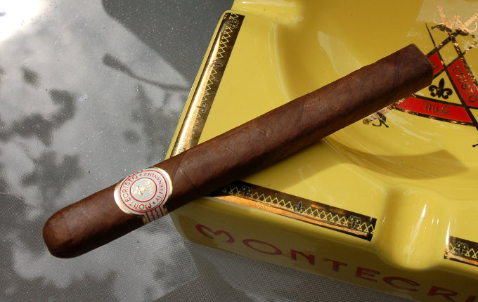 Montecristo by A.J. Fernandez in An Ash Tray