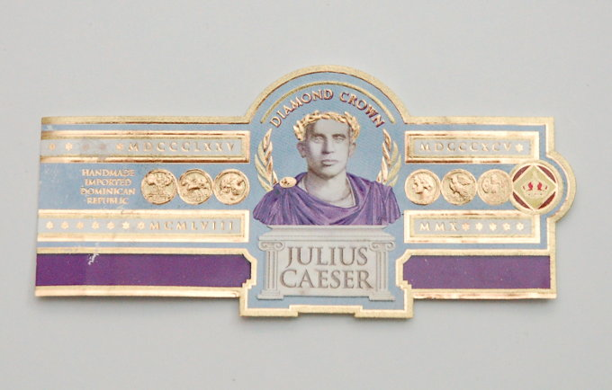 Diamond Crown Julius Caeser Cigar Band