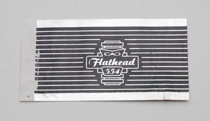 CAO Flathead 554 Cigar Band