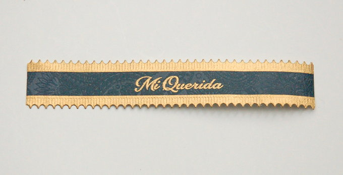 Dunbarton Tobacco & Trust Mi Querida Cigar Band