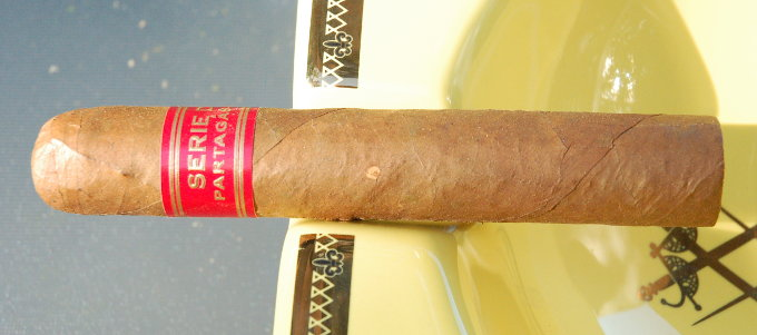 Partagas Serie D No. 4 in an Ash Tray