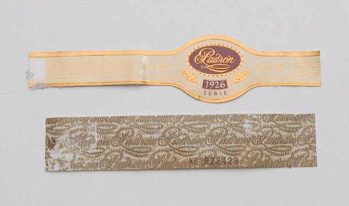 Padron 1926 Maduro No. 2 Cigar Band